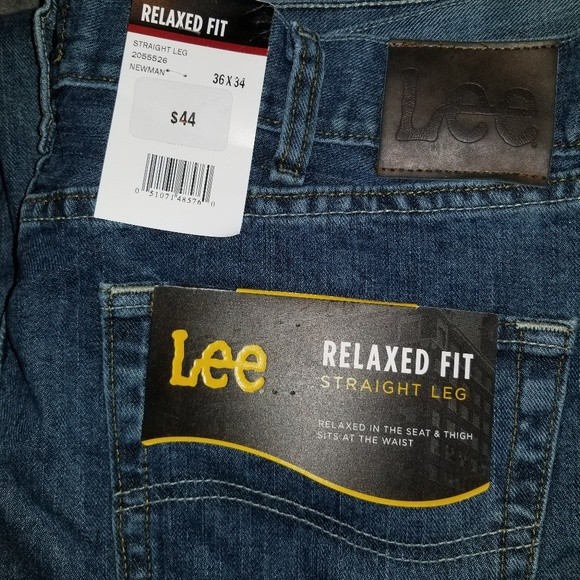 Lee Other - Lee Relaxed Fit Straight Leg jeans